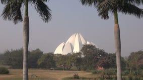 Lotus temple Bahai house, New Delhi, India Royalty Free Stock Photos