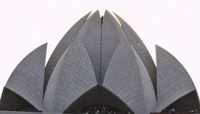 Lotus Temple. The Bahai house of worship Royalty Free Stock Images