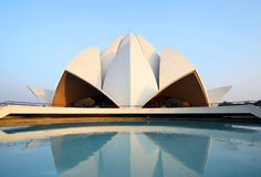 Lotus Temple. In Delhi,India stock image