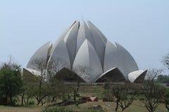 Lotus Temple of Delhi India Royalty Free Stock Photos