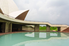 Lotus temple in Delhi Royalty Free Stock Photo