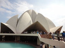 Lotus temple – India Stock Image