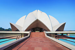 Lotus Temple, India Stock Photos