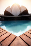 Lotus Temple in India Royalty Free Stock Images