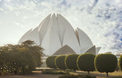 The Lotus Temple Royalty Free Stock Image