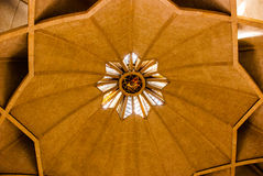 The Lotus Temple, located in New Delhi, India, is a Bahai House of Worship Stock Image