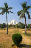 Lotus temple in New Delhi, India Royalty Free Stock Images