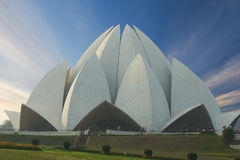 Lotus Temple, situada em Nova Deli, Índia Fotos de Stock