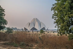 Lotus Temple Royalty Free Stock Photo