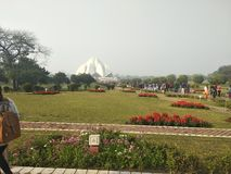 Lotus Temple stockfoto