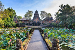Lotus Temple (Ubud) in the early morning Royalty Free Stock Images