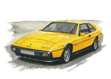 Lotus Turbo Excel ilustração do vetor