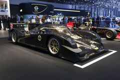 Lotus V8 LMP2 Prototype Race Car Stock Photo