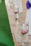 Lotus in Vase Royalty Free Stock Images