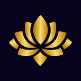 Lotus vector gold