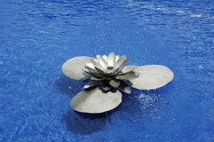 Lotus Water Fountain Stock Image