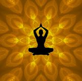 Lotus Yoga Royalty Free Stock Photography