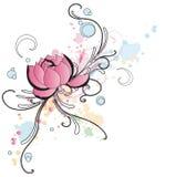 lotusblomma stock illustrationer