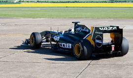 lotusblomma för bil f1 Arkivbild