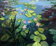 Lotusblommablommor Royaltyfria Bilder