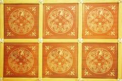 lotusblommatempel Arkivbilder