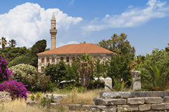 The Lotzia Mosque at Kos island, Greece Stock Photo