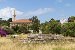 The Lotzia Mosque at Kos island, Greece Royalty Free Stock Photography
