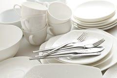 Louça, cozinha Imagem de Stock
