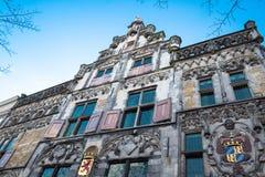Louça de Delft da construção histórica Fotografia de Stock