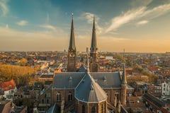 Louça de Delft Países Baixos fotografia de stock royalty free