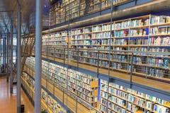 Louça de Delft técnica da universidade da biblioteca nos Países Baixos Foto de Stock