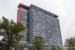 Louça de Delft técnica de construção da universidade da engenharia elétrica, Foto de Stock