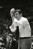 Lou Carnesecca. St. John's head coach Lou Carnesecca. (Image taken from a B&W negative royalty free stock image