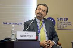Lou Naumovski stock image
