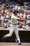 Lou Piniella. New York Yankees OF Lou Piniella. (Image taken from a color slide royalty free stock images