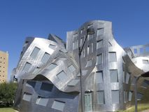 Lou Ruvo Center for Brain Health, Las Vegas, USA. The Lou Ruvo Center for Brain Health LRCBH opened on May 21, 2010 in Las Vegas, Nevada that is operated by the royalty free stock images