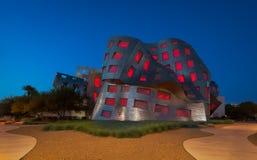 Lou Ruvo Center para Brain Health en la noche Imagenes de archivo