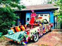 Louco fazer crochê Fotografia de Stock Royalty Free