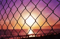 Loucura do por do sol Foto de Stock Royalty Free