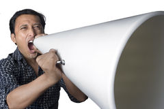 Loud and clear Stock Images