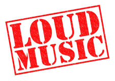 LOUD MUSIC Royalty Free Stock Image