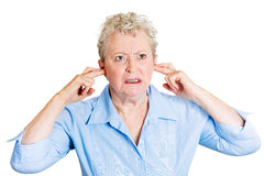 Loud noise Stock Images