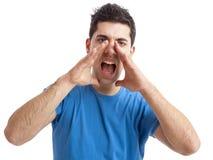 Loud schreien Stockbilder