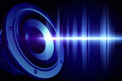 Loud sound Royalty Free Stock Image