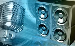 Loud speaker Royalty Free Stock Photography