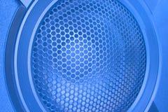 Loud Speaker close up. Blue Loud Speaker close up Stock Photos