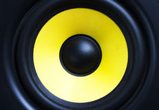 loud speaker  close up Stock Photo