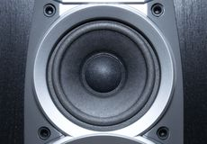 Loud speaker close view stock photography