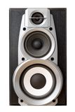 Loud speaker front view Stock Photos