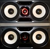 Loud speakers Royalty Free Stock Images